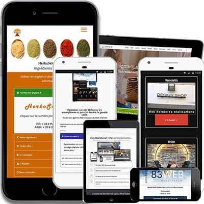 Responsive Site Web Adaptatif